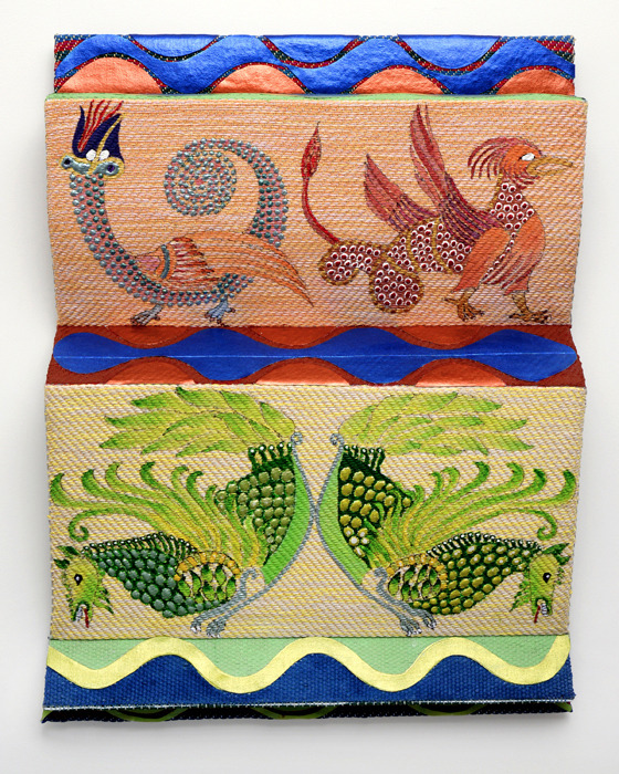 Myth Tablet IV PLANT BIRDS, DRAGON,and PHOENIX