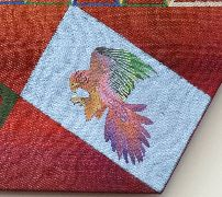 Flying Birds Tapestry